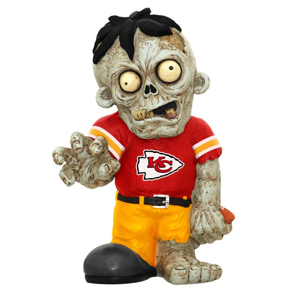 Forever Collectibles NFL Kansas City Chiefs 9-inch Zombie Figurine