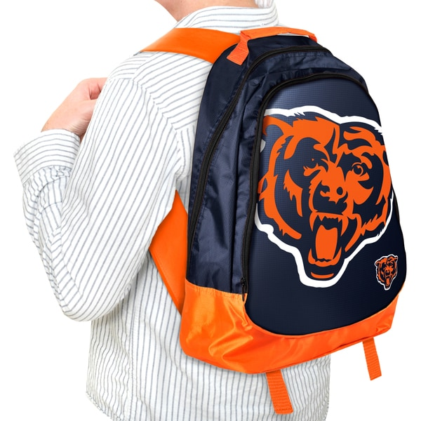 Forever Collectibles NFL Chicago Bears 19-inch Structured Backpack