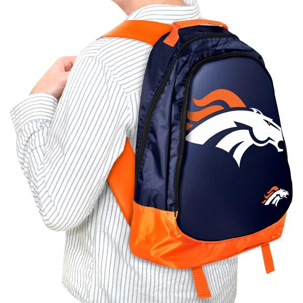 Forever Collectibles NFL Denver Broncos 19-inch Structured Backpack