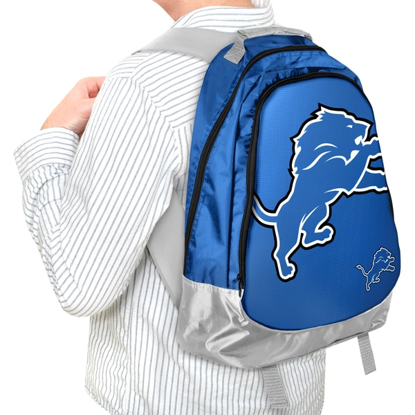 NFL Detroit Lions 19-inch Structured Backpack