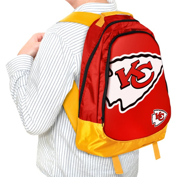 Forever Collectibles NFL Kansas City Chiefs 19-inch Structured Backpack