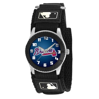Game Time MLB Atlanta Braves Black Rookie Series Watch