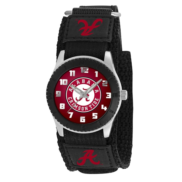 Game Time NCAA Alabama Crimson Tide Black Rookie Series Watch