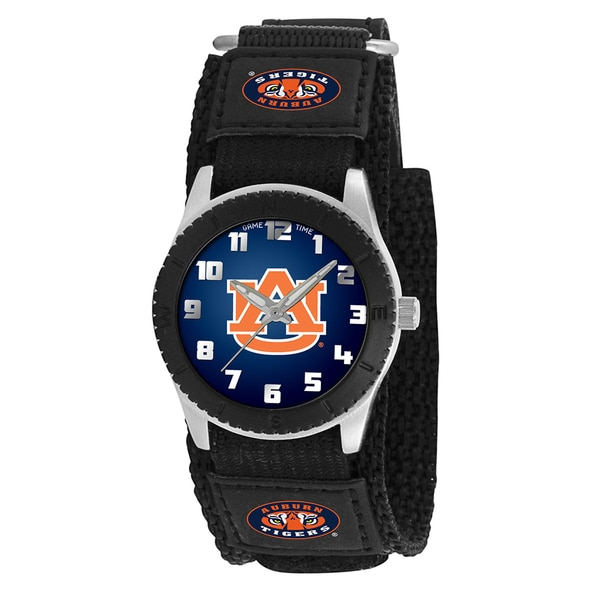 Game Time NCAA Auburn Tigers Black Rookie Series Watch