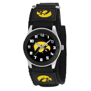 Game Time NCAA Iowa Hawkeyes Black Rookie Series Watch