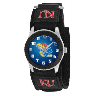 Game Time NCAA Kansas Jayhawks Black Rookie Series Watch