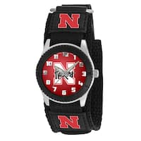 Game Time NCAA Nebraska Cornhuskers Black Rookie Series Watch