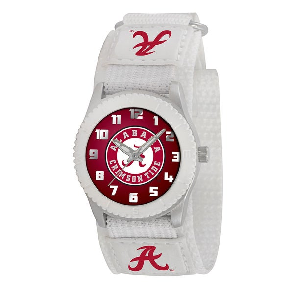 Game Time NCAA Alabama Crimson Tide White Rookie Series Watch