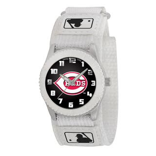 Game Time MLB Cincinnati Reds White Rookie Series Watch|https://ak1.ostkcdn.com/images/products/8552855/Game-Time-MLB-Cincinnati-Reds-White-Rookie-Series-Watch-P15830238.jpg?impolicy=medium