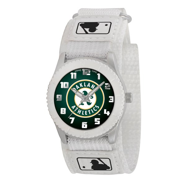 Game Time MLB Oakland Athletics White Rookie Series Watch