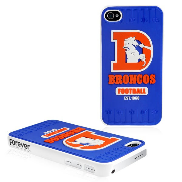 Forever Collectibles NFL Denver Broncos iPhone 4/ 4S Hard Protective Phone Case