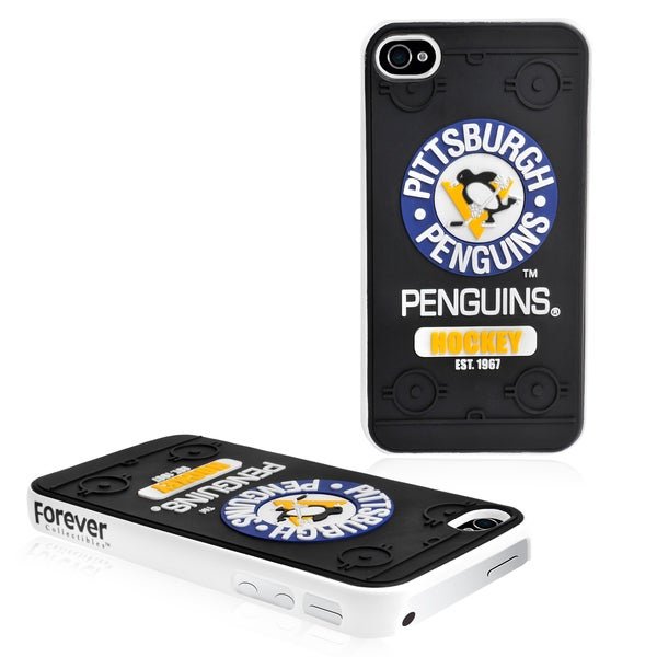 Forever Collectibles NHL Pittsburgh Penguins iPhone 4/ 4S Hard Protective Phone Case