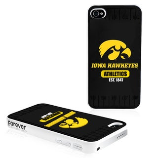 Forever Collectibles NCAA Iowa Hawkeyes iPhone 4/4S Hard Protective Phone Case