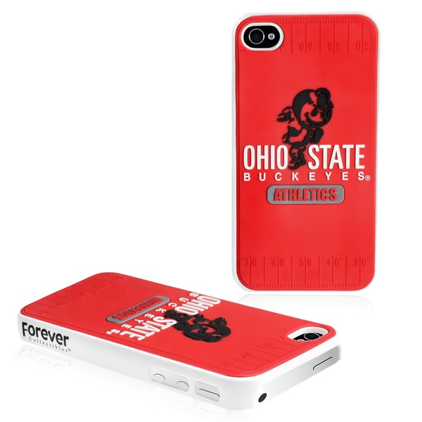Forever Collectibles Ohio State Buckeyes iPhone 4/ 4S Hard Protective Phone Case