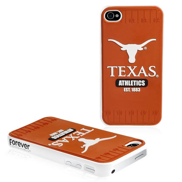 Forever Collectibles NCAA Texas Longhorns iPhone 4/ 4S Hard Protective Phone Case