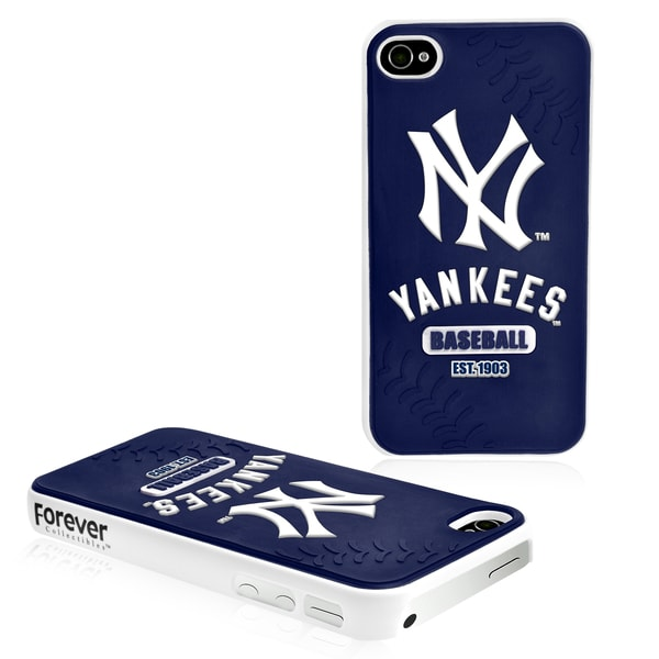 Forever Collectibles MLB New York Yankees iPhone 4/ 4S Hard Protective Phone Case
