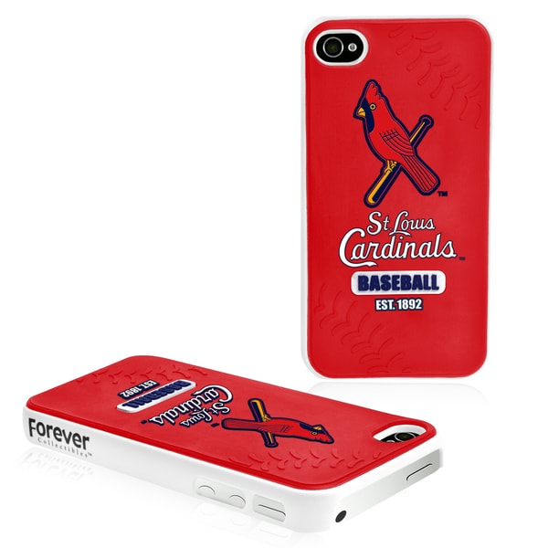Forever Collectibles St. Louis Cardinals iPhone 4/4S Hard Protective Phone Case