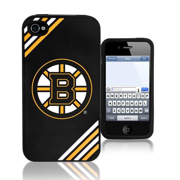NHL Boston Bruins 4/ 4S Silicone Phone Case