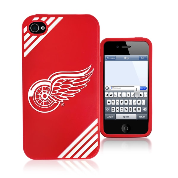 Forever Collectibles NHL Detroit Red Wings iPhone 4/4S Silicone Phone Case