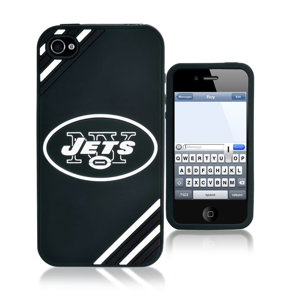 Forever Collectibles NFL New York Jets iPhone 4/ 4S Silicone Phone Case