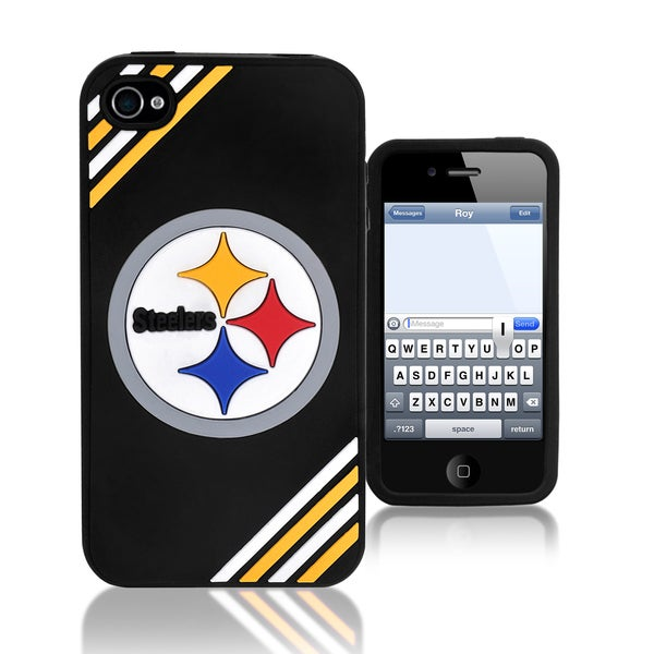 NFL Pittsburgh Steelers 4/ 4S Silicone Phone Case