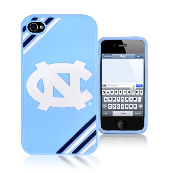 Forever Collectibles NCAA North Carolina Tar Heels iPhone 4/ 4S Silicone Phone Case