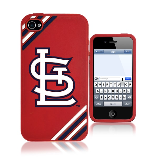Forever Collectibles MLB St. Louis Cardinals iPhone 4/ 4S Silicone Phone Case