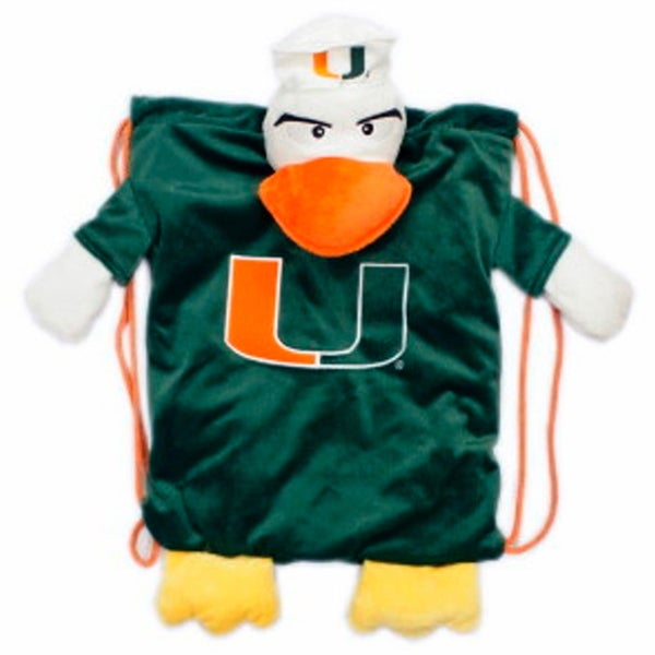 NCAA Miami Hurricanes Backpack Pal