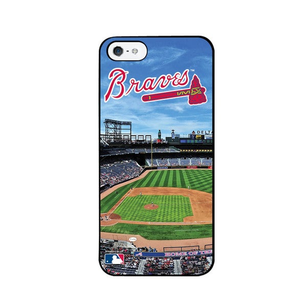 Pangea MLB Atlanta Braves Stadium iPhone 5 Case