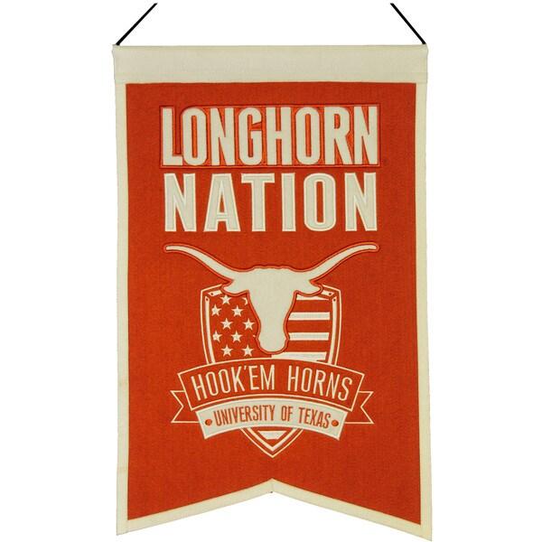 NCAA Texas Longhorns Wool Nations Banner