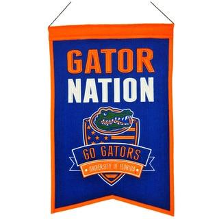 NCAA Florida Gators Wool Nations Banner