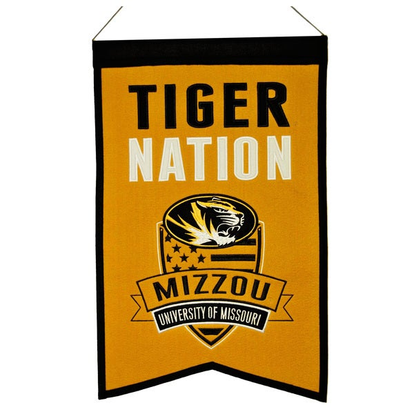 NCAA Missouri Tigers Wool Nations Banner