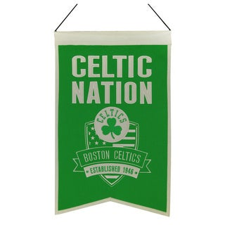 NBA Boston Celtics Wool Nations Banner
