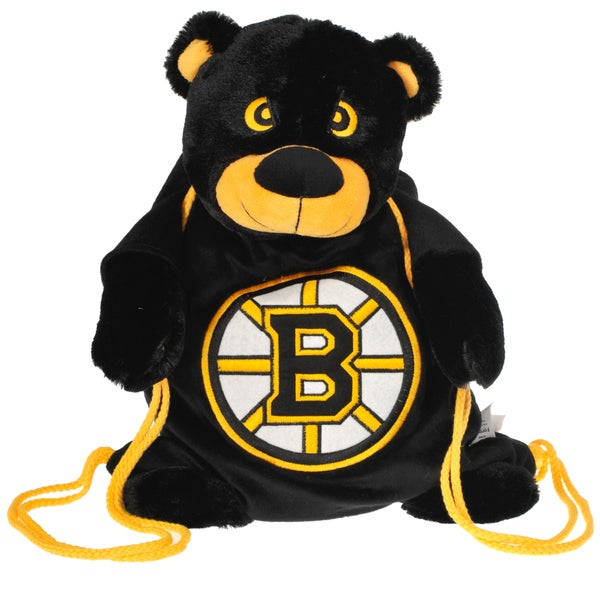 2d8cf60e48c Shop Forever Collectibles NHL Boston Bruins Backpack Pal - Free Shipping On  Orders Over  45 - Overstock - 8553189