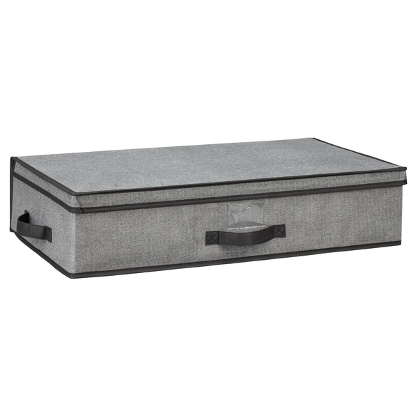 Shop Kennedy Home Collection Grey 28 Inch Underbed Storage