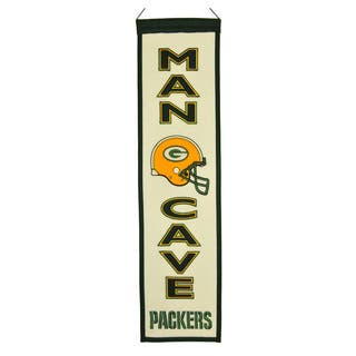 NFL Green Bay Packers Wool Man Cave Embroidered Banner https://ak1.ostkcdn.com/images/products/8553273/NFL-Green-Bay-Packers-Wool-Man-Cave-Embroidered-Banner-P15831014.jpg?impolicy=medium