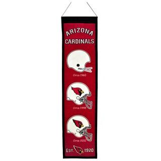 NFL Arizona Cardinals Wool Heritage Banner