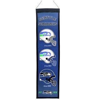 NFL Seattle Seahawks Wool Heritage Banner