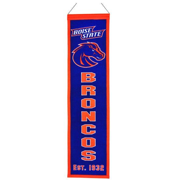 NCAA Boise State Broncos Wool Heritage Banner