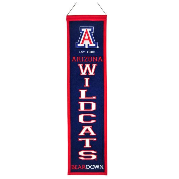 NCAA Arizona Wildcats Wool Heritage Banner
