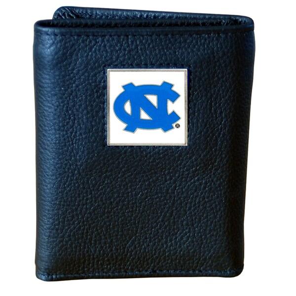 NCAA North Carolina Tar Heels Leather Tri-fold Wallet