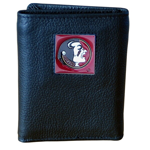 NCAA Florida State Seminoles Leather Tri-fold Wallet