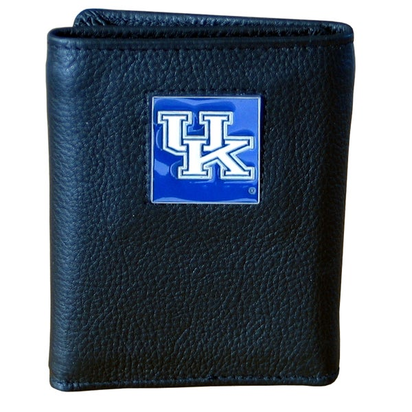 NCAA Kentucky Wildcats Leather Tri-fold Wallet