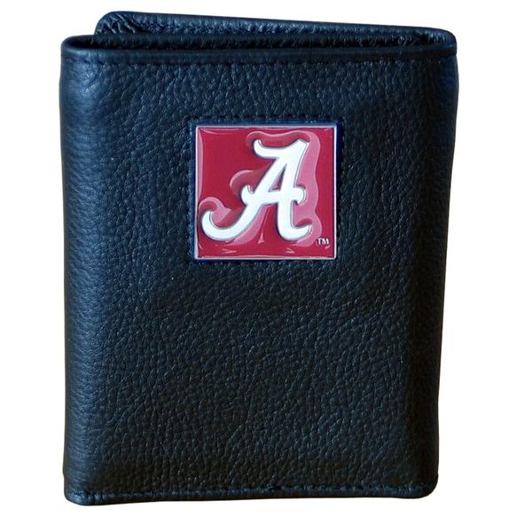 NCAA Alabama Crimson Tide Leather Tri-fold Wallet