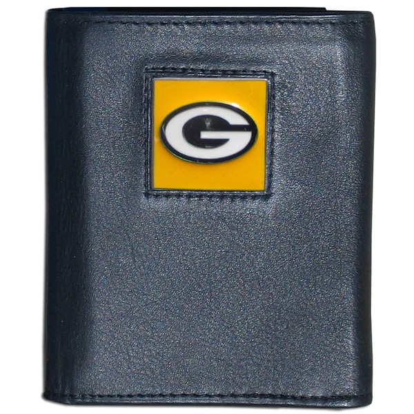 NFL Green Bay Packers Executive Leather Tri-fold Wallet