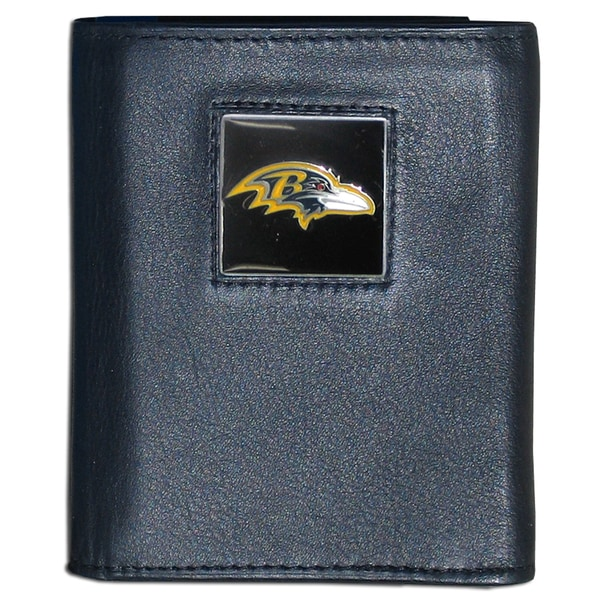 NFL Baltimore Ravens Executive Leather Tri-fold Wallet