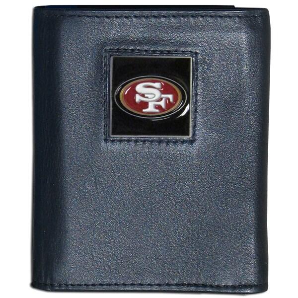 NFL San Francisco 49ers Leather Tri-fold Wallet