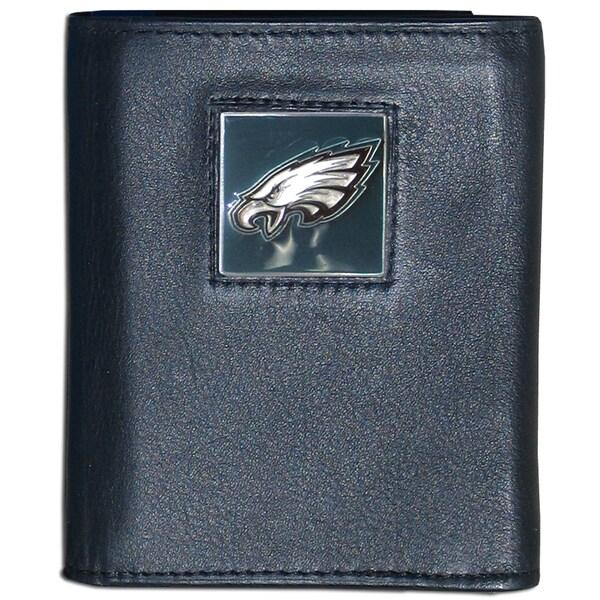 NFL Philadelphia Eagles Leather Tri-fold Wallet