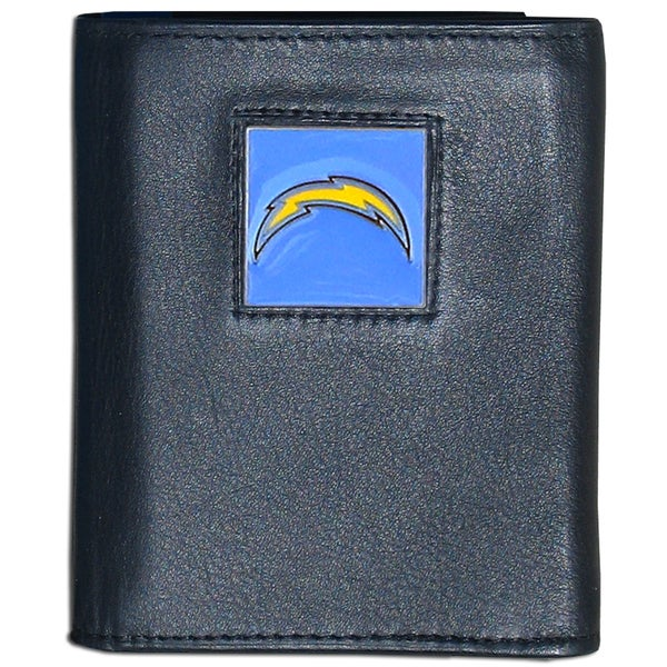 NFL San Diego Chargers Leather Tri-fold Wallet