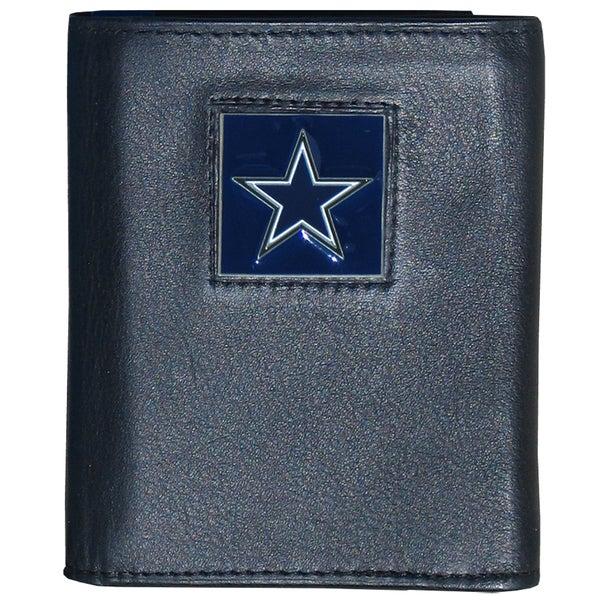NFL Dallas Cowboys Executive Leather Tri-fold Wallet